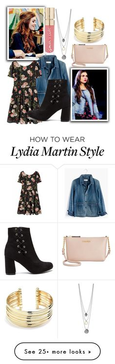 """Lydia Martin (Teen Wolf)"" by princessmikyrah on Polyvore featuring Madewell, Smith & Cult, Calvin Klein and Belk Silverworks"