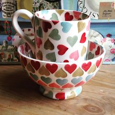 Half Pint Mug and French Bowl for Collectors Day 2015