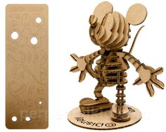 MiNi Cardboard Mickey Puzzle.