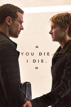 I swear to god this gives me life😭❤❤ - Modern Divergent Fandom, Divergent Funny, Divergent Trilogy, Divergent Insurgent Allegiant, Divergent Quotes, Insurgent Quotes, Tris Und Four, Tris Et Tobias, Theo James