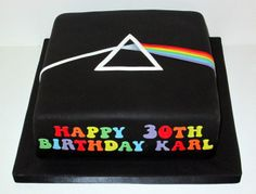 Pink Floyd Cake by The Coloured Bubble Cakery