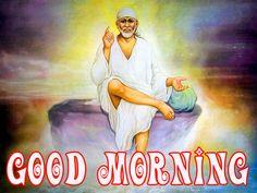 Sai Baba Good Morning Images Pics HD Wallpaper Pictures, Photo Wallpaper, Pictures Images, Good Morning Images Hd, Morning Pictures, Good Morning Wallpaper, Sai Ram, Om, Free
