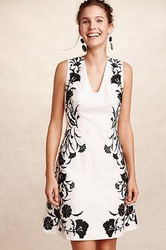 be17147395 Embroidered Bellflower Dress - anthropologie.com White Wardrobe