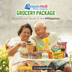 BayanMall is an Online Shopping Mall for Filipinos working abroad who wishes to send gifts and other items to their families back home. Online Grocery Store, Online Shopping Mall, Filipino, Philippines, Families, My Family, Households
