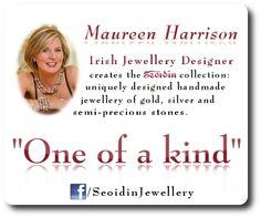 Maureen Harrison Irish Jewellery Designer Irish Jewelry, Handmade Design, Dublin, Ireland, Handmade Jewelry, Jewelry Design, Jewels, Jewellery, Bridal