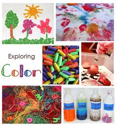 Color Activities for kids... lots and lots of ways to play #parenting #fun