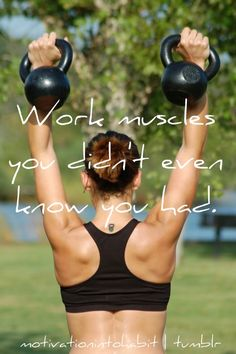 work muscles