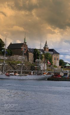 Akershus Castle, Oslo, Norway ….Stay cheap and comfortable in Oslo: www.airbnb.com/rooms/1036219?guests=2&s=ja99 and https://www.airbnb.com/rooms/6808361