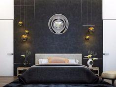 déco-chambre-coucher-adulte-mur-foncé-lampes-chevet-suspensions-modern-bedroom-inspiration-master-bedroom-design-modern-master-bedroom-ideas déco-chambre-coucher-adulte-mur-foncé-lampes-chevet-suspensions-modern-bedroom-inspiration-master-bedroom-design-modern-master-bedroom-ideas