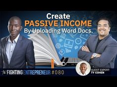 How To Create Passive Income With Amazon Kindle - Feat. Ty Cohen (Part 1) - YouTube Passive Income Streams, Creating Passive Income, Amazon Publishing, Success Academy, Websites For Students, Best Entrepreneurs, Advertising Strategies, Online Classroom, Successful Online Businesses