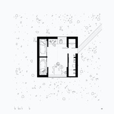 Heima: Iceland Trekking Cabins in 2019 Small Floor Plans, Small House Plans, House Floor Plans, Compact House, Micro House, Architecture Drawings, Architecture Plan, Residential Architecture, Iceland Trekking