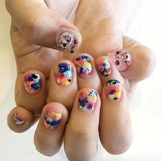 Gummy bear nails by Yumi Nail