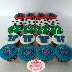 Cupcakes personalizados Paris Saint-Germain