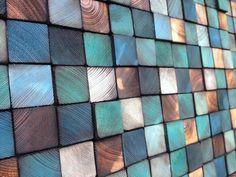 Hout Sculpture hoofdeinde of kunst aan de muur door WallWooden