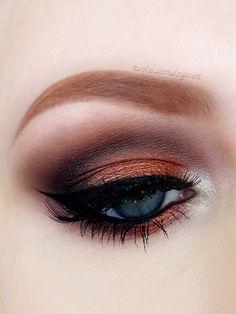 Nicola Kate Makeup - captivating copper