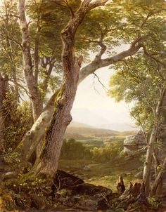 Asher B. Durand - Shandaken Range, Kingston, New York, circa 1854