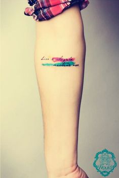 coolTop Watercolor tattoo - Hi ~ Have you ever know forearm tattoos for girls in 2015 Valentine's day? - Fashion Blog