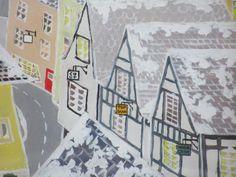 Detail from 'Snow Queen' window mural.