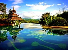 14 Amazing Pools Around The World - Anantara Golden Triangle Pool At Chiang Rai Thailand
