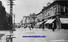 Улица Цар Борис - Варна някога - България в стари снимки и пощенски картички