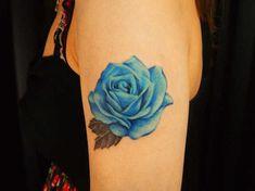 Exclusive Blue Rose Tattoos (1)