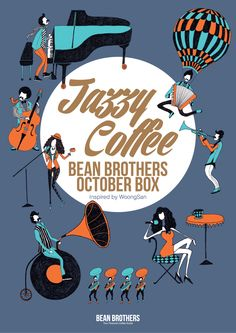 BEAN BROTHERS OCTOBER BOX / 빈브라더스 10월의 커피박스 / Coffee Subscription / Editorial Design / Poster / www.beanbrothers.co.kr