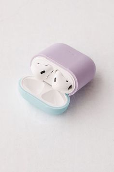 Shop elago AirPods Silicone Duo Case at Urban Outfitters today. Fone Apple, Airpods Apple, Urban Outfitters, Accessoires Iphone, Coque Iphone 6, Earphone Case, Air Pods, Airpod Case, Cute Cases