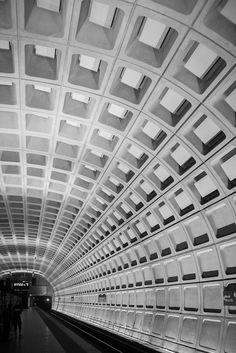 Vanishing point. DC Train Station