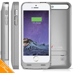 Alpatronix BX120SE 2400mAh iPhone SE Battery Charging Case