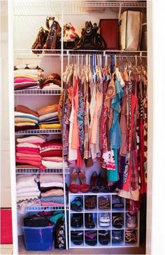 Learn How To Organize A Small Closet