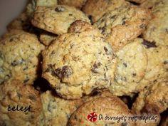 Μπισκότα με βρώμη και κομμάτια σοκολάτας #sintagespareas