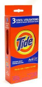 #travel laundry detergent