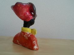 Bust with rose hat by Sherlizz , sold June 2014