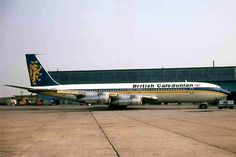 Boeing 707, British Caledonian 1970-1988 (British Airways)