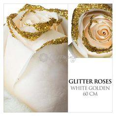 white-roses-gold-glitter-DIY-2.jpg (500×500)