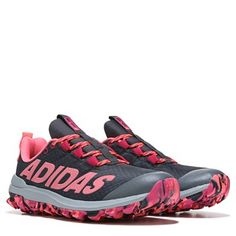 adidas Vigor 6 TR Trail Running Shoe Black/Pink Marbled