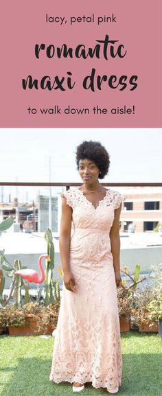 ModCloth Memorable Matrimony Maxi Dress In Petal | Available Sizes:XXS,XS,S,M,L,XL,1X,2X,3X,4X