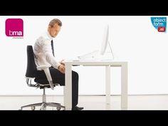 Gezond Zitten In 1 Minuut - Bureaustoel BMA Axia 2.6 - Objectform -YouTube