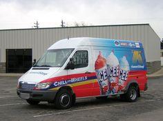 ICEE Sprinter Vehicle wrap