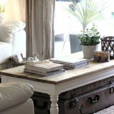How to Accessorize a Coffee Table.  Just Decorate! Blog  country design coffee table