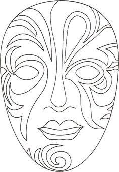molde para fazer máscara - Pesquisa Google