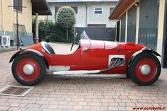 Barchetta fiat 750A Pini siluro del 1948 elaborata nella parte meccanica e telaistica dalla premiata concessionaria alfa romeo bugatti f.lli pini forli e carrozzata da autocarrozzieri modena...