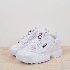 Trendy Sneakers 2017/ 2018 : Fila Disruptor II W White