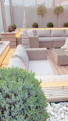 Back Garden Design, Small Backyard Design, Small Backyard Patio, Backyard Patio Designs, Backyard Pools, Backyard Ideas, Backyard Landscaping, Patio Ideas, Landscaping Design