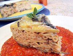Makaronopita w Eggplant (Μακαρονόπιτα με μελιτζανες) - Kalofagas - Greek Food  Beyond