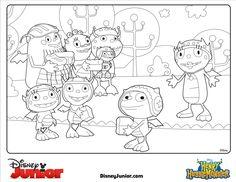 Get ready for the new series Henry Hugglemonster on Disney Junior the Channel!