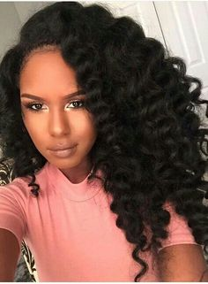 50 Best Eye-Catching Long Hairstyles for Black Women | Shoulder ...