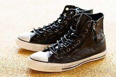 varatos converse leather zip high