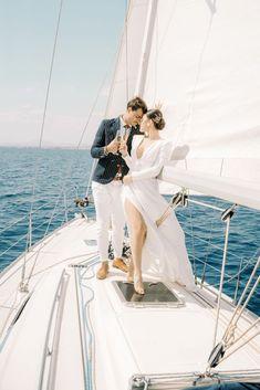 Vintage Greek Sailboat Elopement Inspiration – Andreas K. Georgiou 3