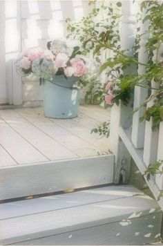 Peonies and hydrangeas